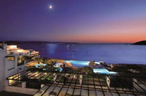 Colonna Resort by night