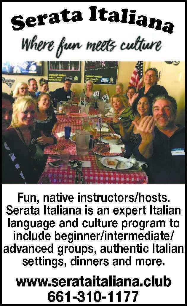 Serata Italiana Club Ad
